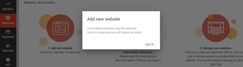 Website verification