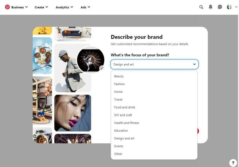 Pinterest blogging niches
