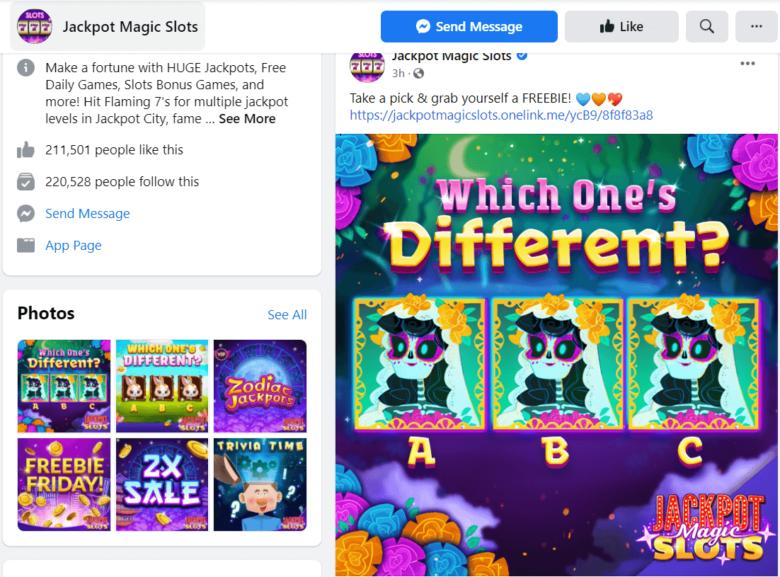 Online Gambling in social networks