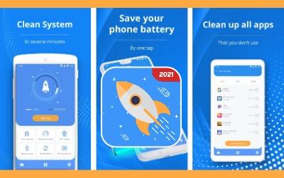 Rocket Cleaner mobile affiliate offer