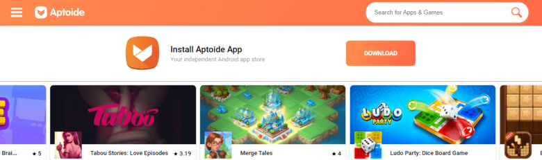 Aptoide platformm for app developers