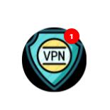 Icon notification VPN