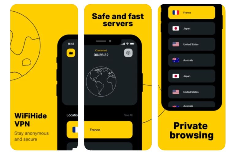 VPN landing page