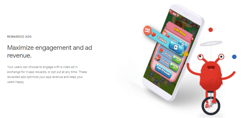 Types of ads on Google AdMob