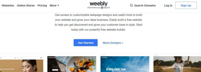 weebly free hosting service