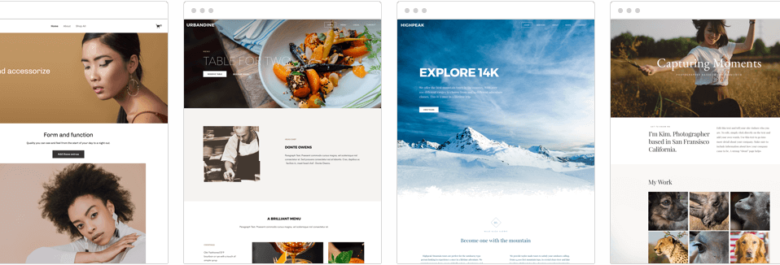 Weebly website builder main page overview