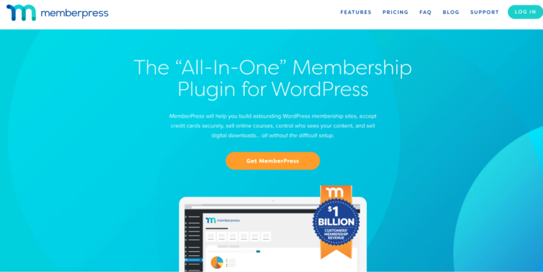 MemberPress home page