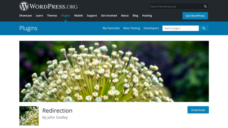 Redirection home page