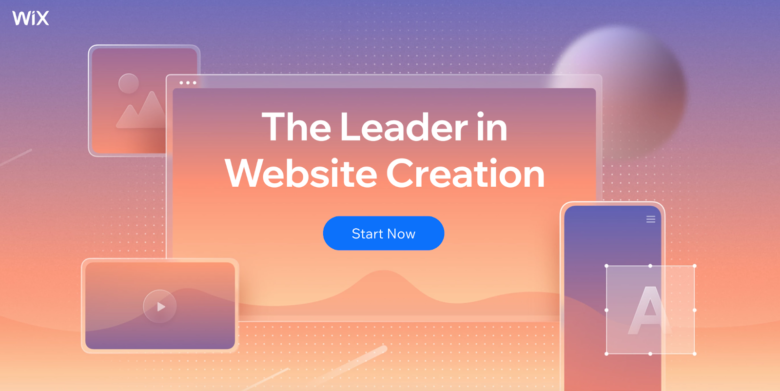 Wix Landing Page Builder example