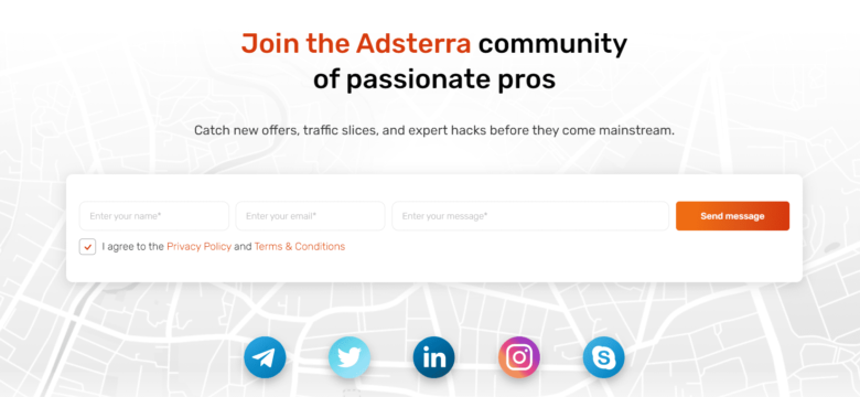 Adsterra CPA Network registration