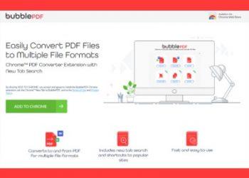 Bubble PDF Converter