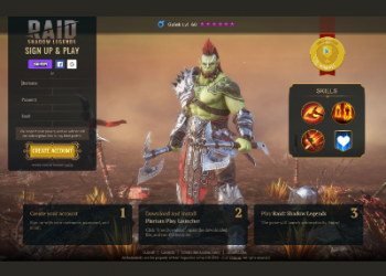 Social Bar_RAID game offer